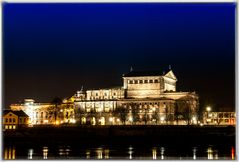 Dresden in der Nacht