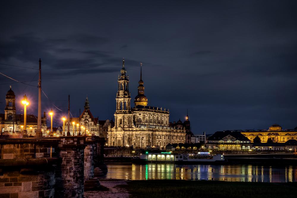 Dresden nachts...