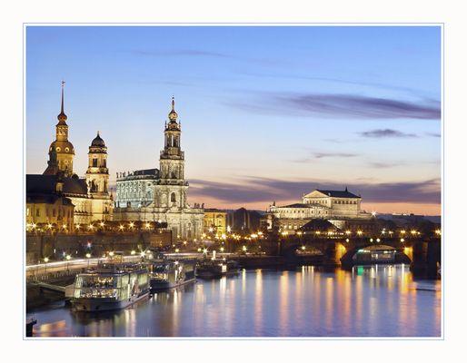 Dresden Pastel Night