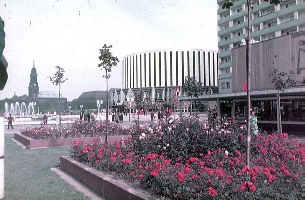 Dresden Prager Strasse 1980