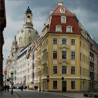 Dresden, Rampische Straße 33 - der Löffler-Blick