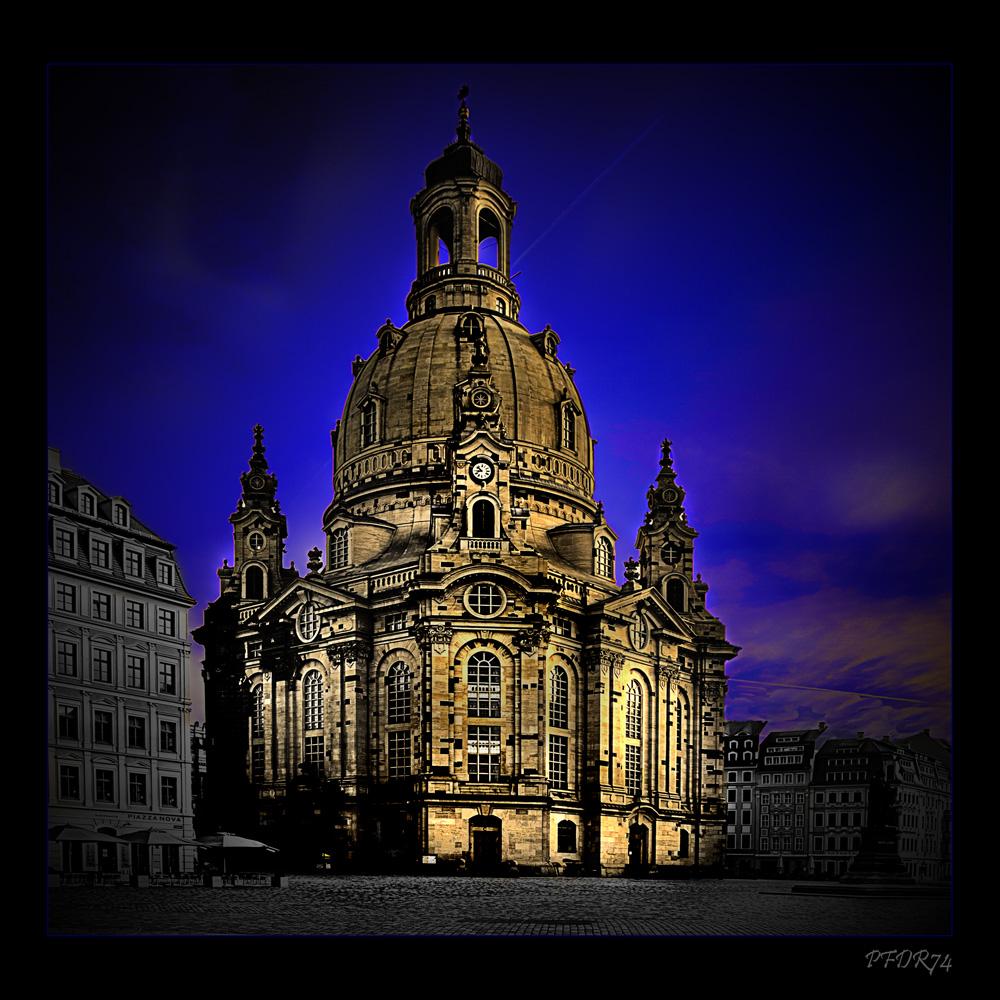 Dresden - schon wieder die Frauenkirche...