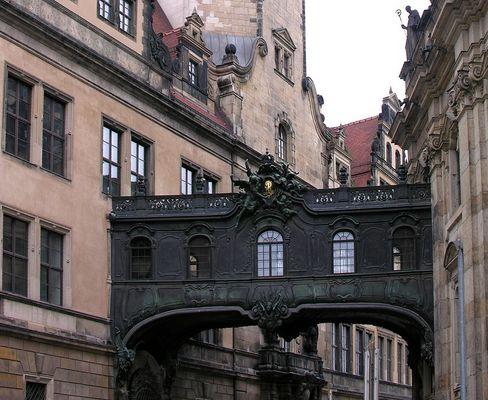 Dresden: Seufzerbrücke