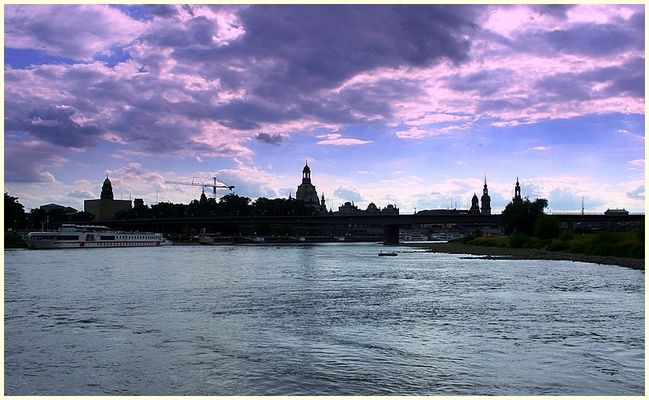 Dresden - Silhouette