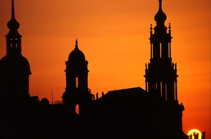 Dresden, Skyline