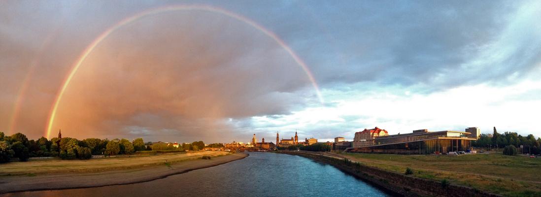 Dresden unterm Regenbogen