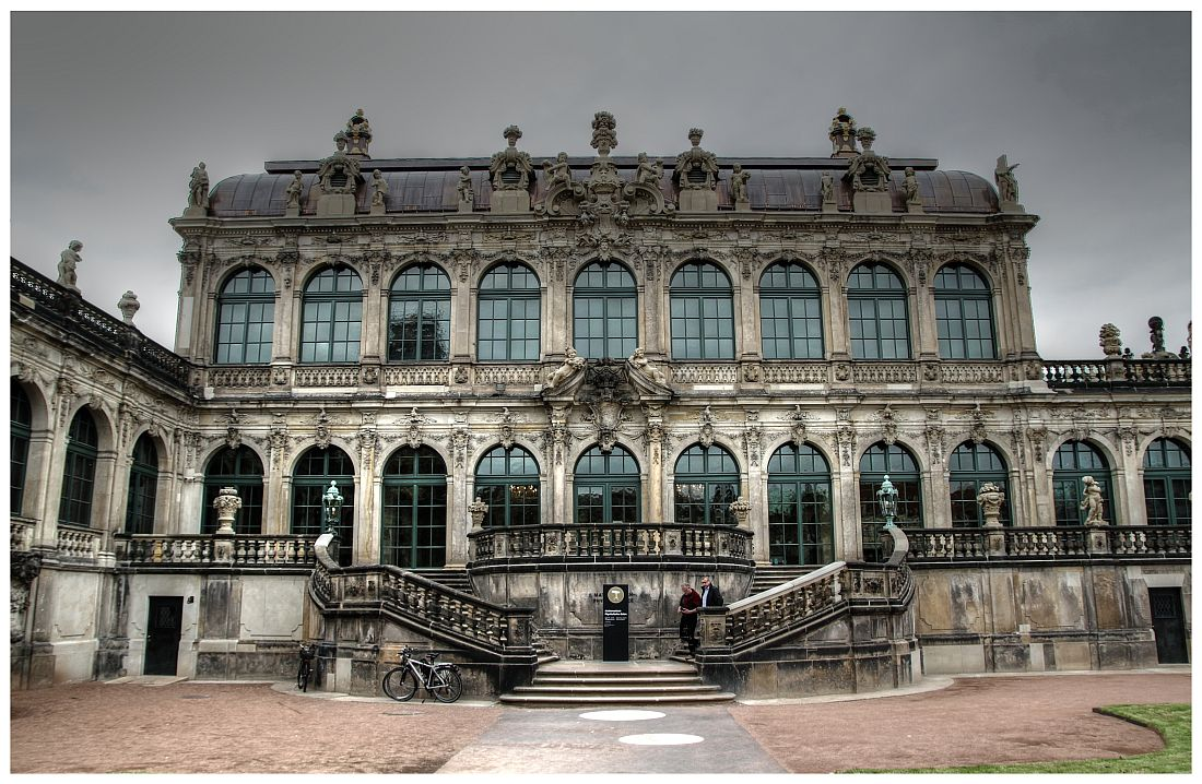 Dresden - Zwinger, Mathematisch-Physikalische Salon