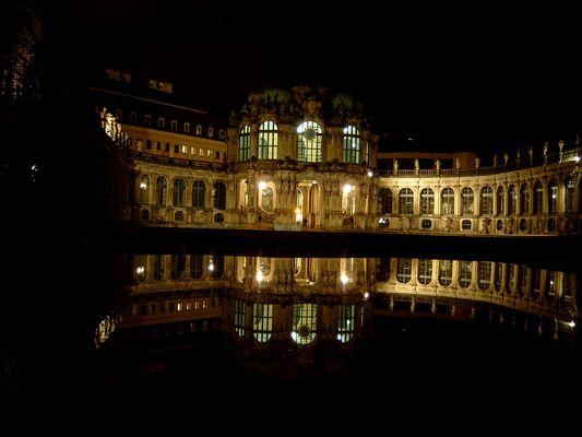 Dresden - Zwinger - Novembernacht