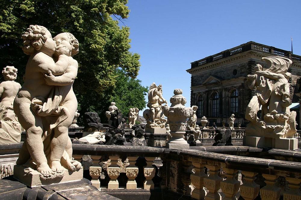 Dresden; Zwinger; Nymphengarten