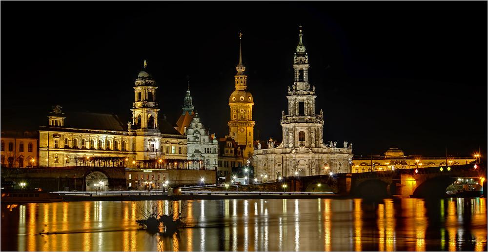 Dresdens Altstadt ..