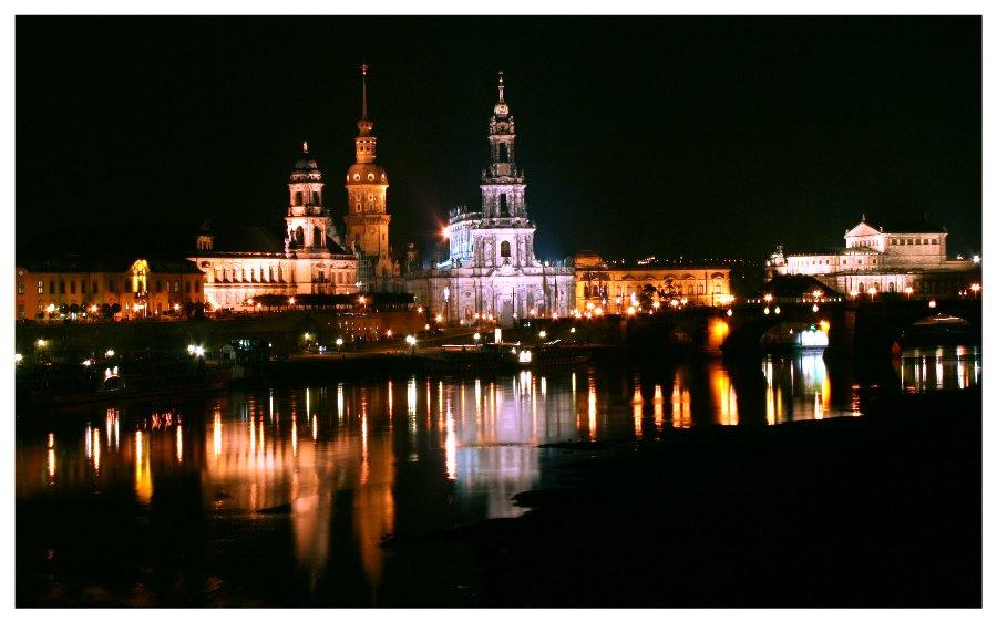 Dresdens Elbpanorama