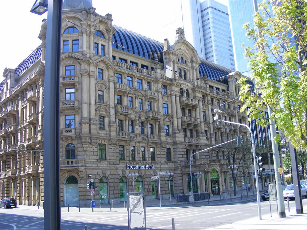Dresdner Bank in Frankfurt/M.