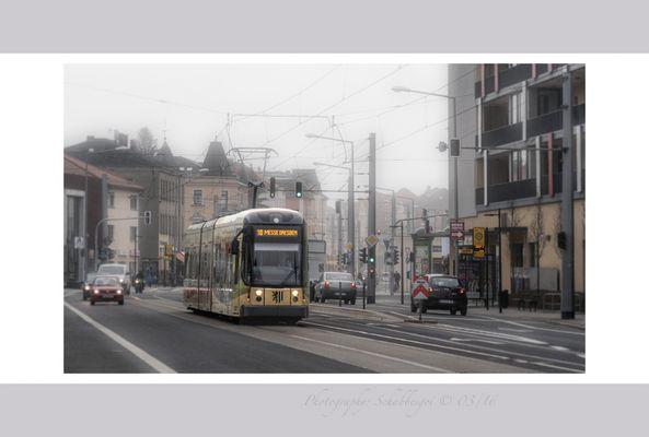 Dresdner Strassenbahn Linie 10