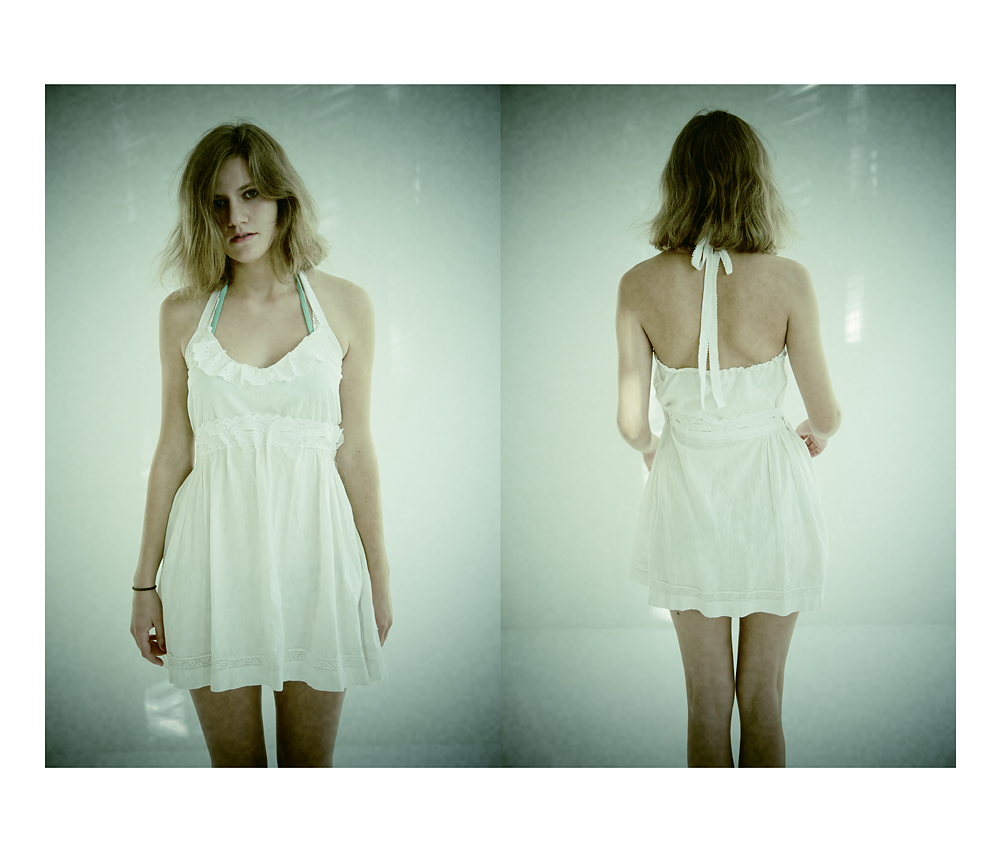 Dress, home-tailored, 2011