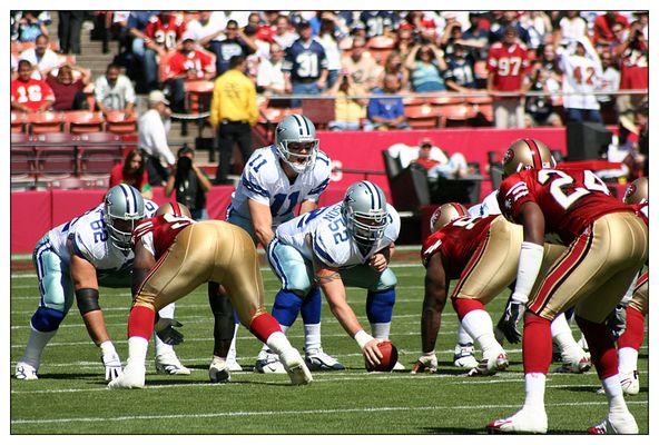 Drew Bledsoe behind Center