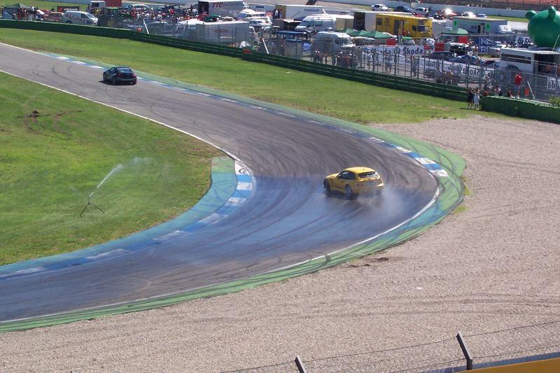 Drift eines BMW Z3