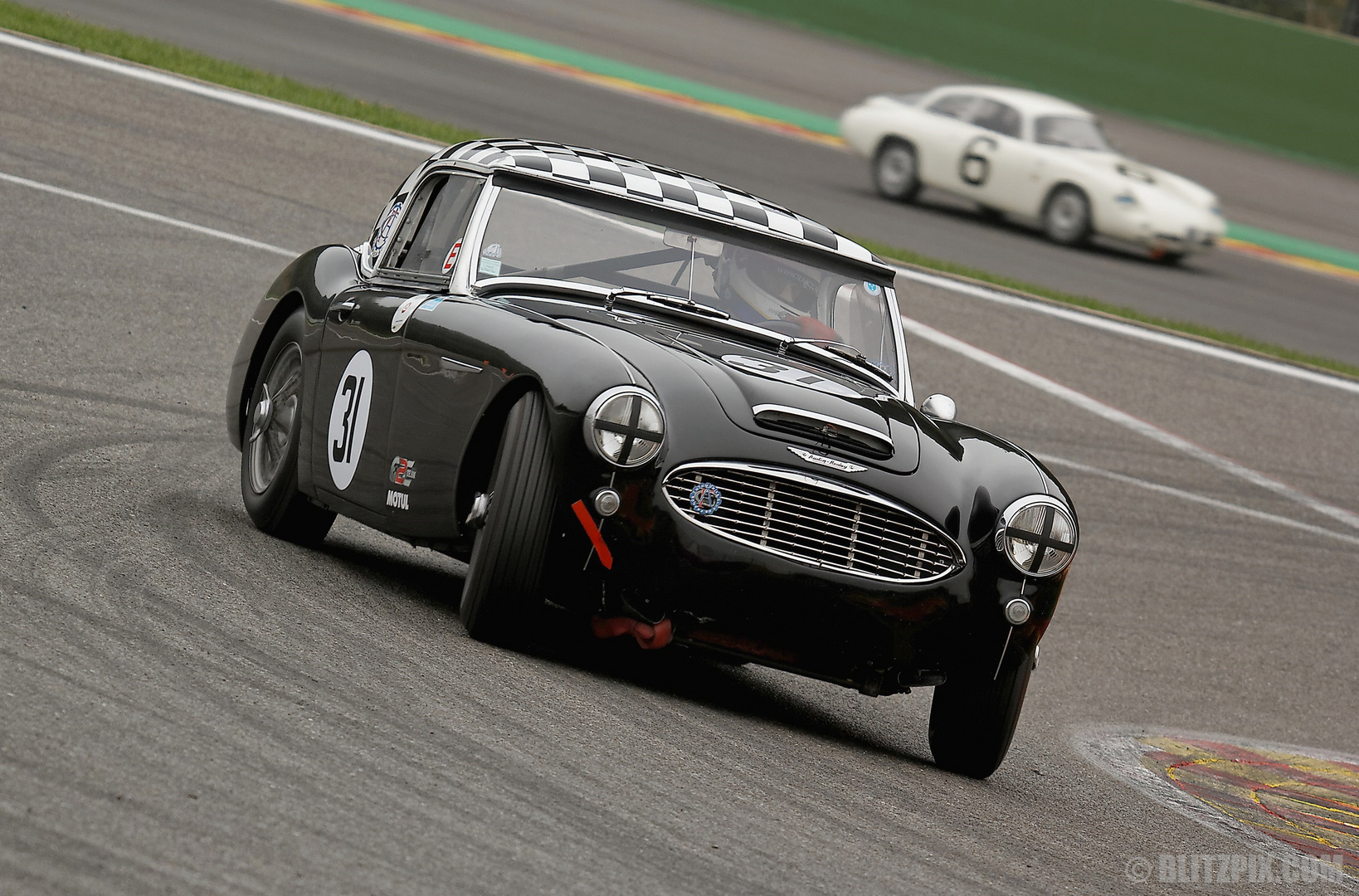 """ Drifting Healey """