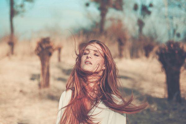 drifting through the wind