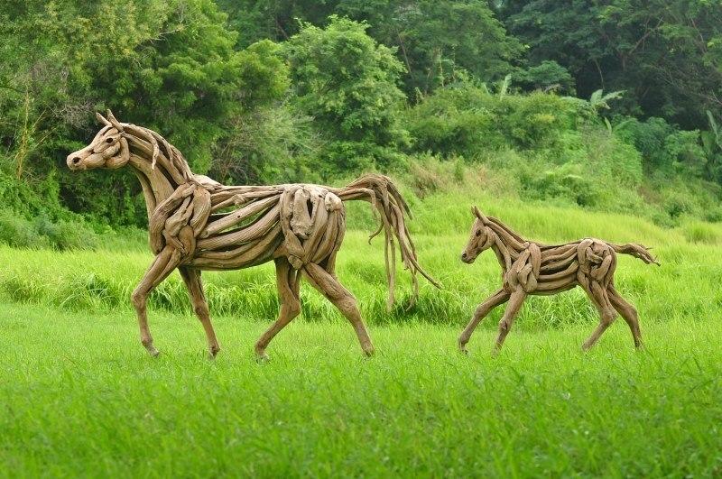 Driftwood-Art - bezaubernde Unikate der Treibholzkunst - Bild 3