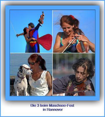 """Dritte Collage zum Thema """"Menschen"""""""
