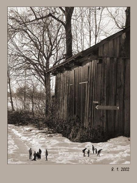 Dritte und letzte Aufnahme vom Zwergenvolk.Fotografiert am 8.1.2002