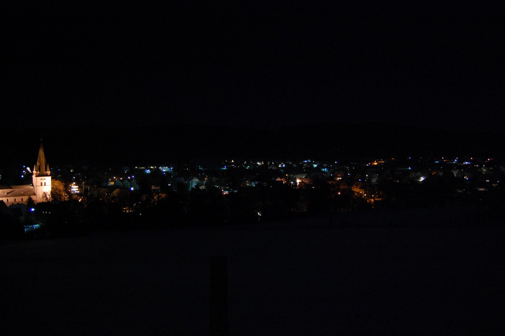 Drolshagen bei Nacht