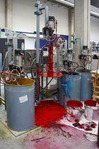 Druckerei - Farbmischanlage