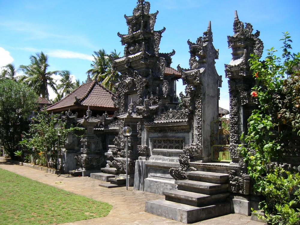"""""""drüber g'stolpert """"- Streifzüge auf Bali"""