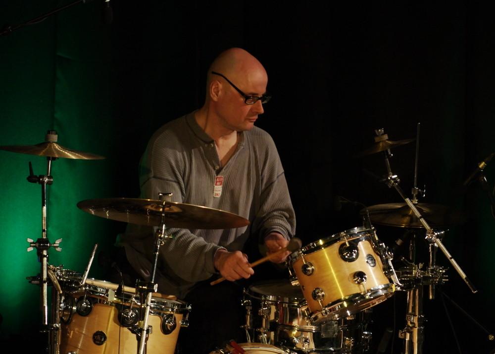 Drum Machine, Electronics, Percussion & Waterphone