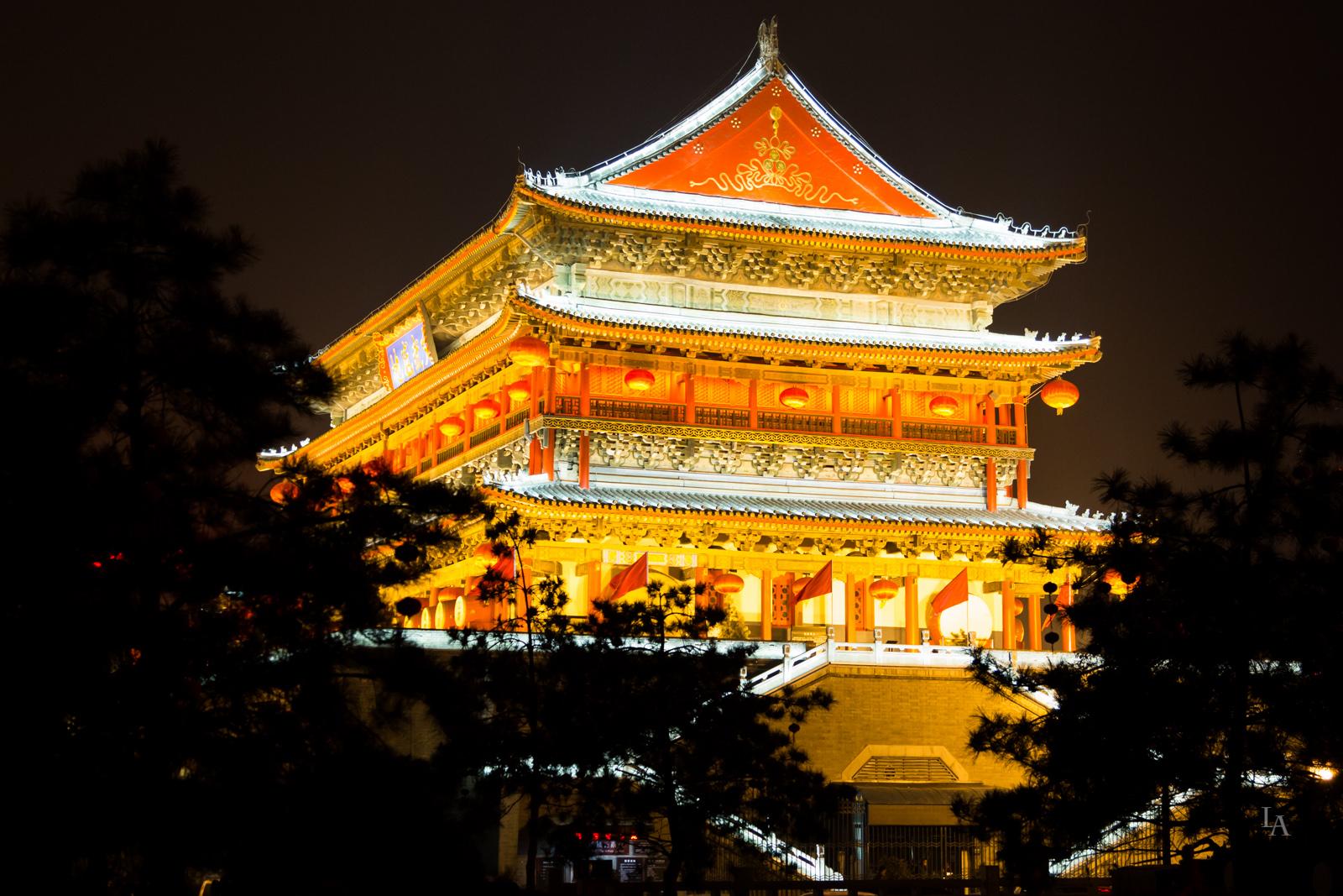 Drum Tower in Xian