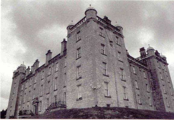 Drumlanrig Castle/Schottland des Duke of Queensburry and Bucchleuch