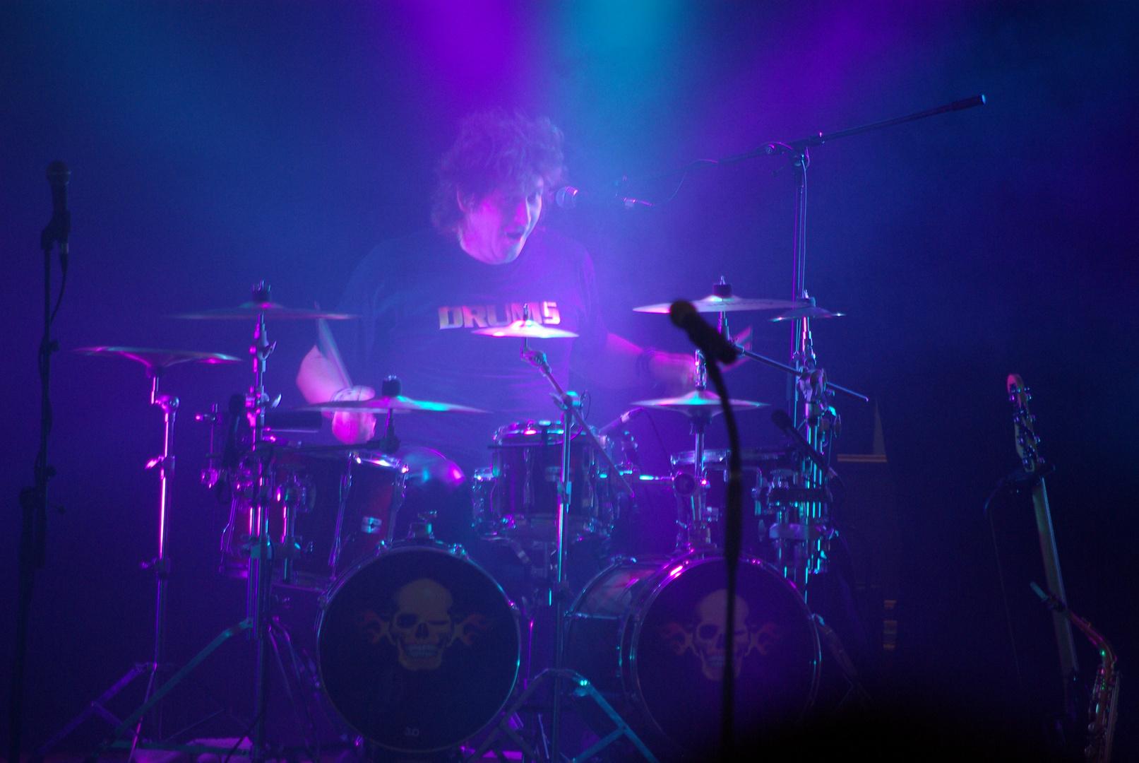 Drummer der Kleinen Tierschau