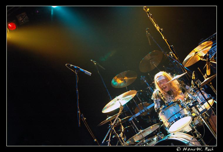 Drummer in the corner