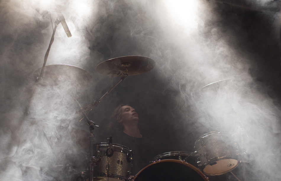 drums and light