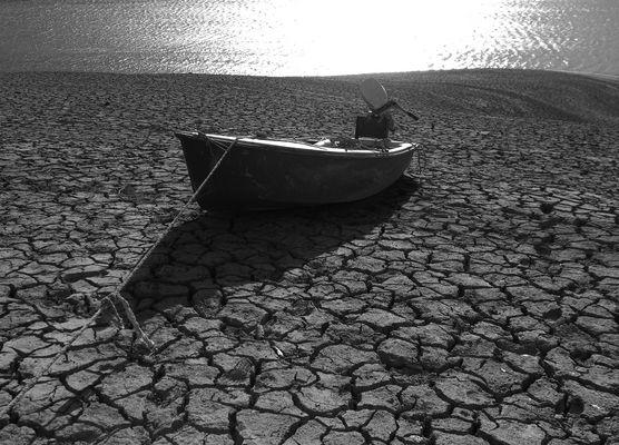 Dry lake...