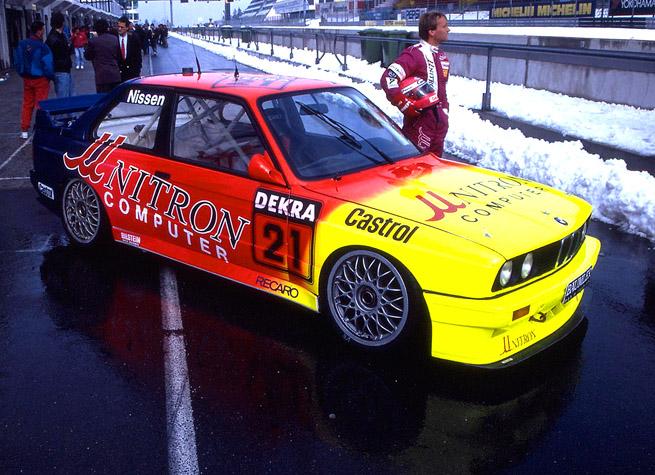 DTM- 1992 Nürburgring. Mit Ring Wetter : Kris Nissen BMW-M.3