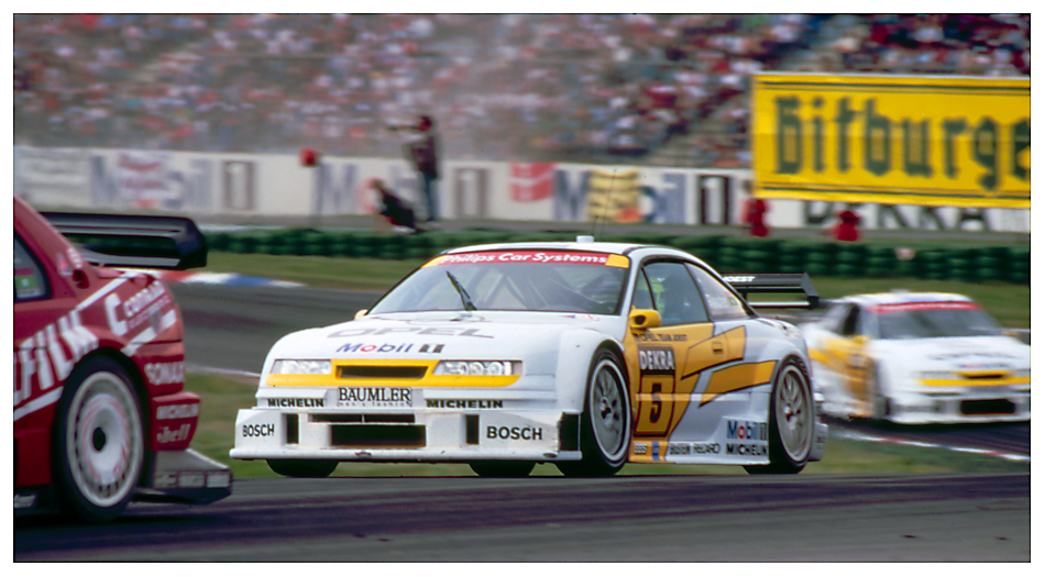 dtm 1994 manuel reuter im opel calibra foto bild sport motorsport rundstrecke bilder auf. Black Bedroom Furniture Sets. Home Design Ideas