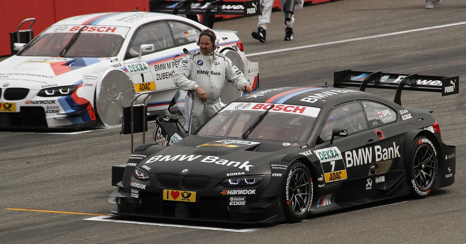 DTM 2012 BMW Techniker