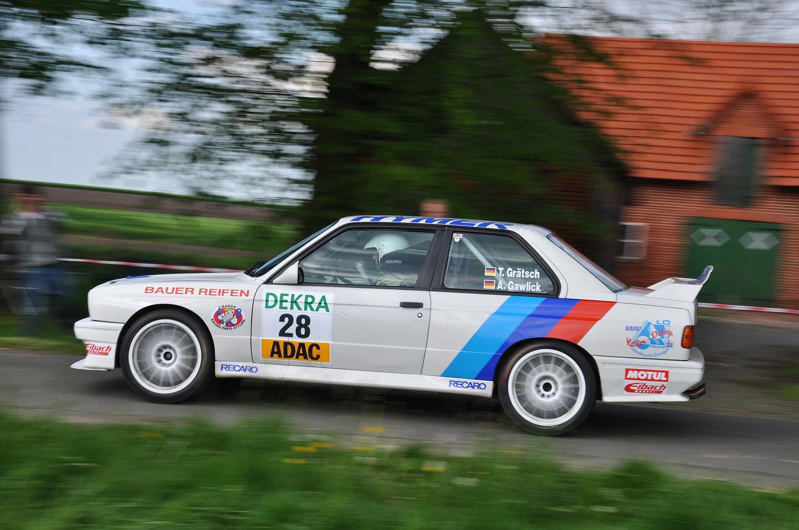DTM Flair im Rallyesport!