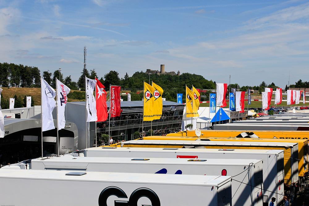 DTM Nürburgring 06-08.07.2010 .. Fahrerlager