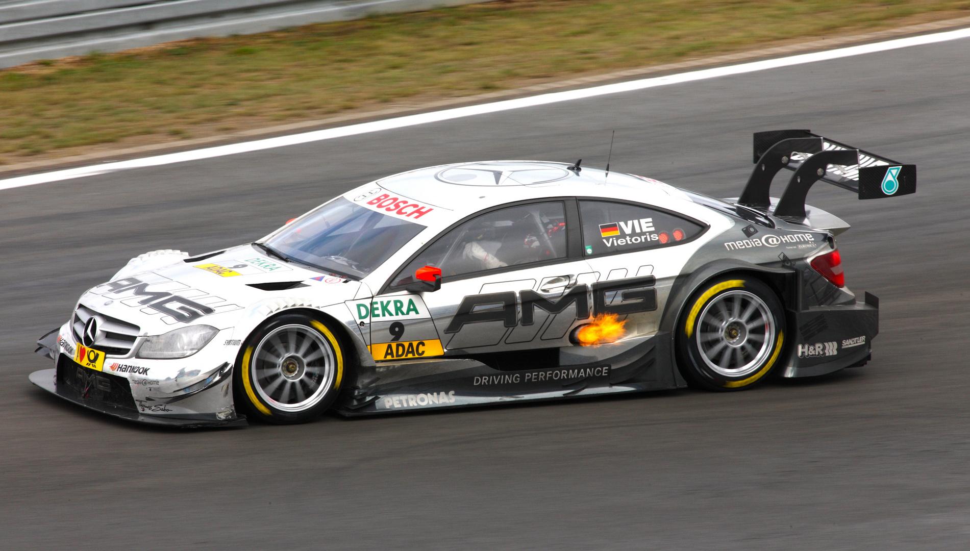 DTM Nürburgring 18.08.13 Vietoris MB