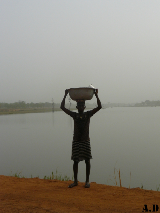Du courage quotidien, Burkina Faso.