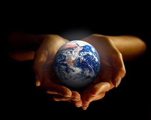 Du hast die Zukunft dieses blauen Planeten in deiner Hand
