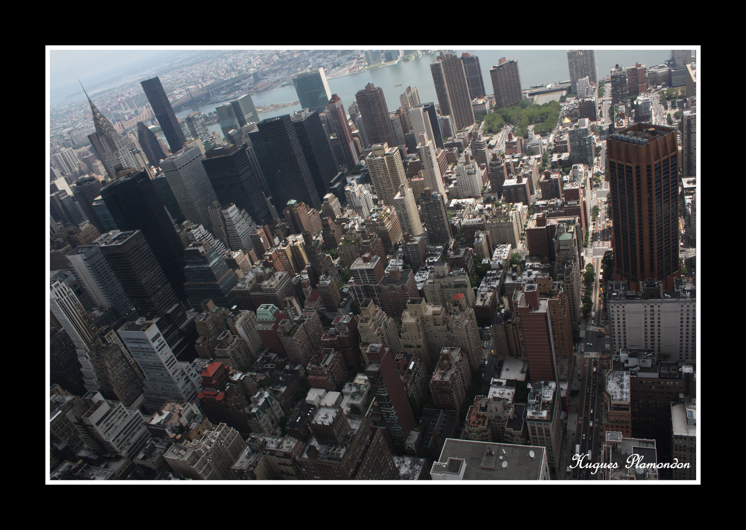 Du haut du ciel de Manhattan