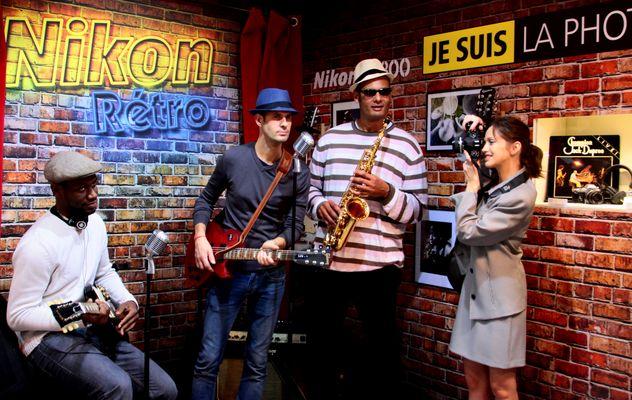 du Jazz chez Nikon