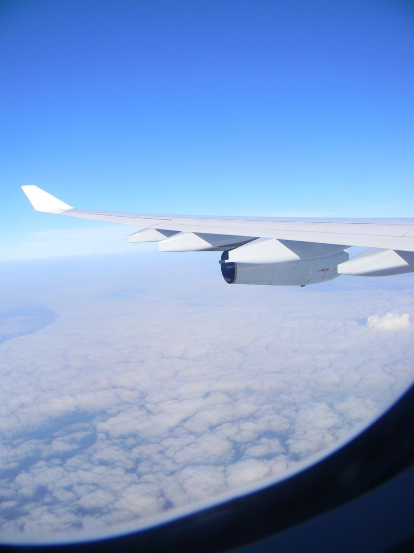 Du kannst in die Ferne fliegen, Durch die Mongolei, in tiefste Tiefen tauchen. Fühl Dich frei. (Ich