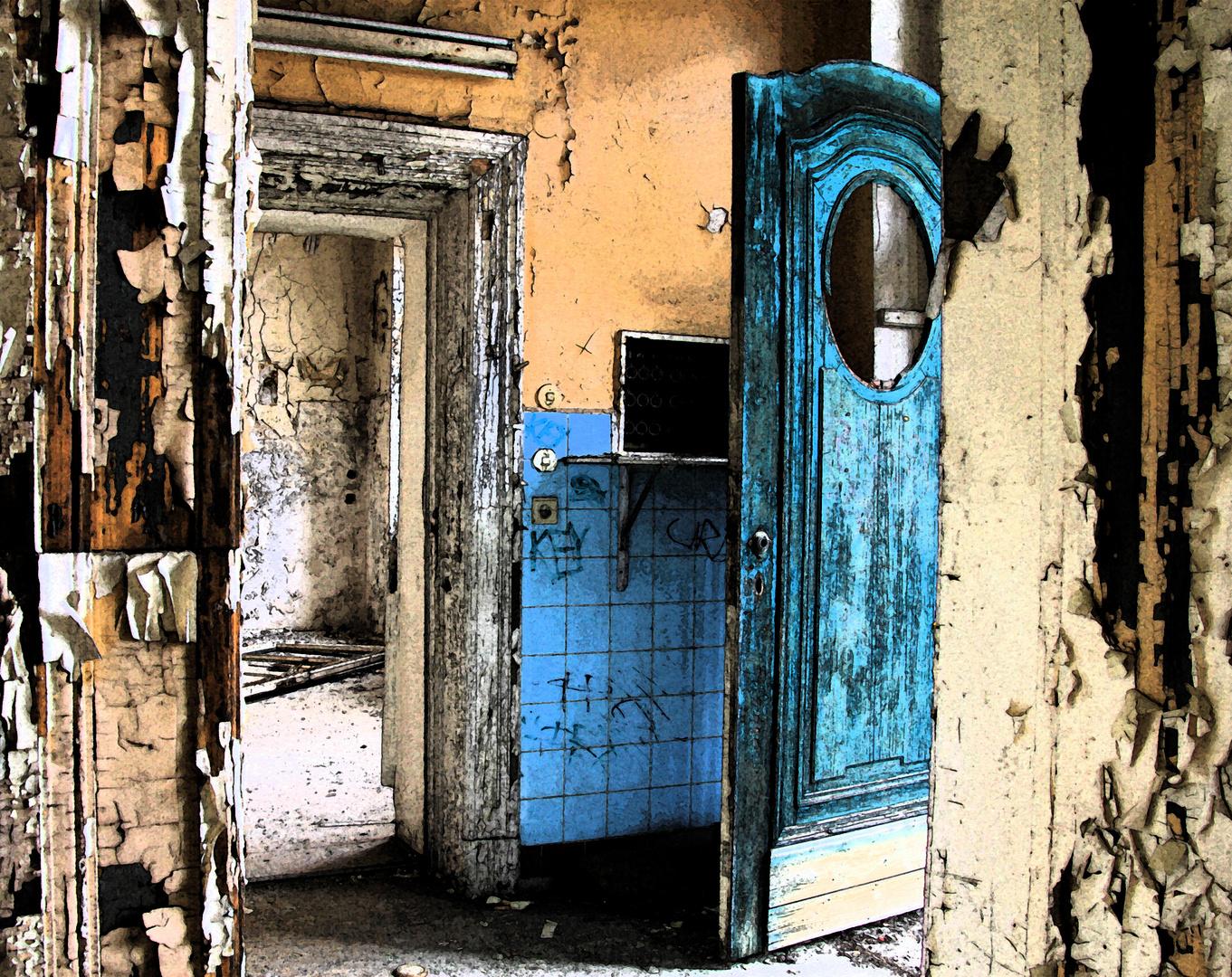 Du kannst nicht ein Leben lang alle Türen offen halten,