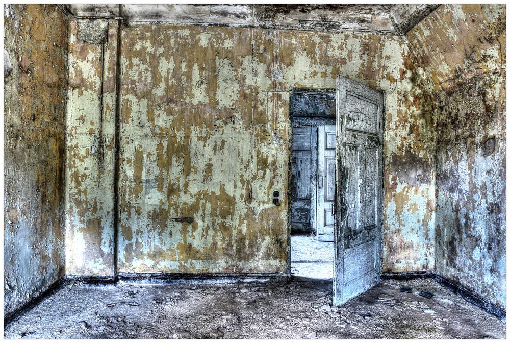 Du kriegst die Tür nicht zu.