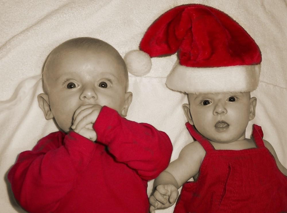 Du Niclas, da kommt der echte Nikolaus!