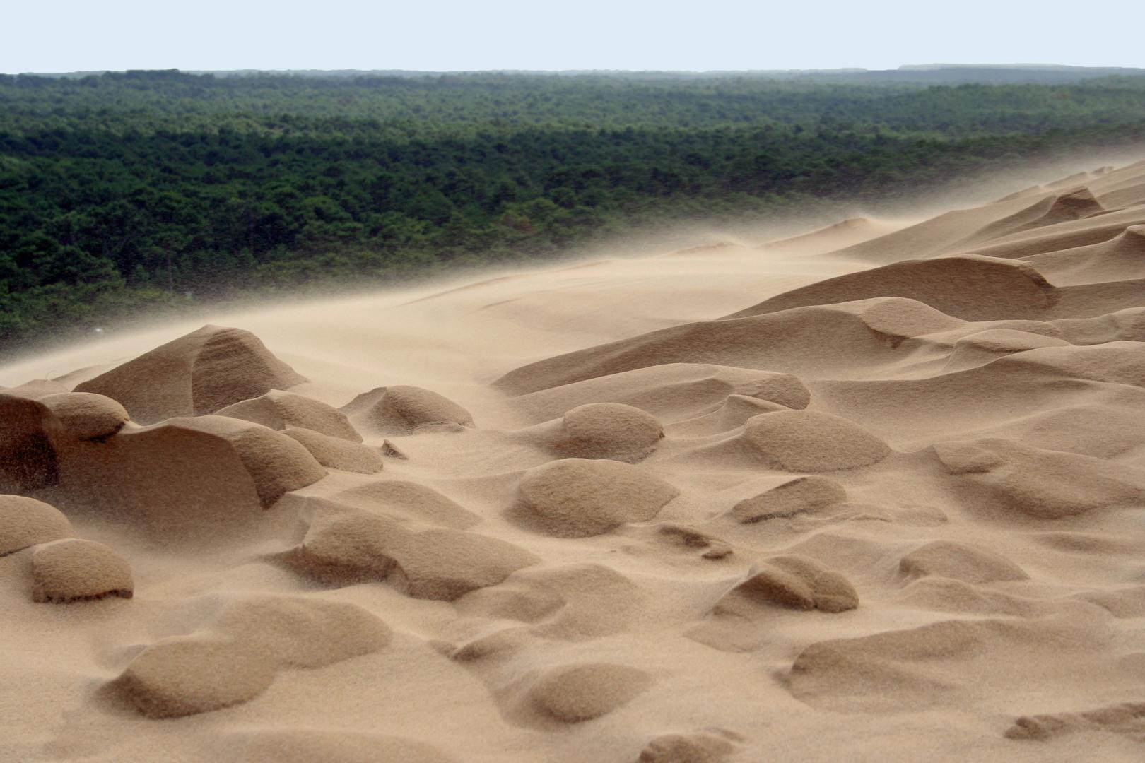 du sable et encore du sable !!!